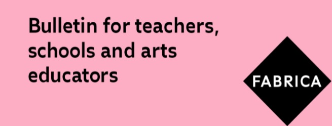 The Autumn edition of our Teachers, Schools and Art Educators' Newsletter recently went out to subscribers. It contains updates, resources and opportunities for learners and educators here at Fabrica. Read it here: ow.ly/6i5h50G7Kb6 Subscribe here: ow.ly/rzlE50G7Kb5