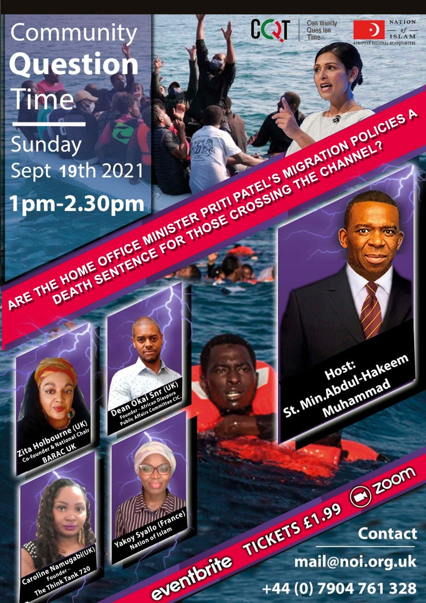 This Sunday #communityquestiontime #migrantrights #displacement