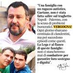 "Image for the Tweet beginning: Matteo #Salvini: ""Una famiglia con"
