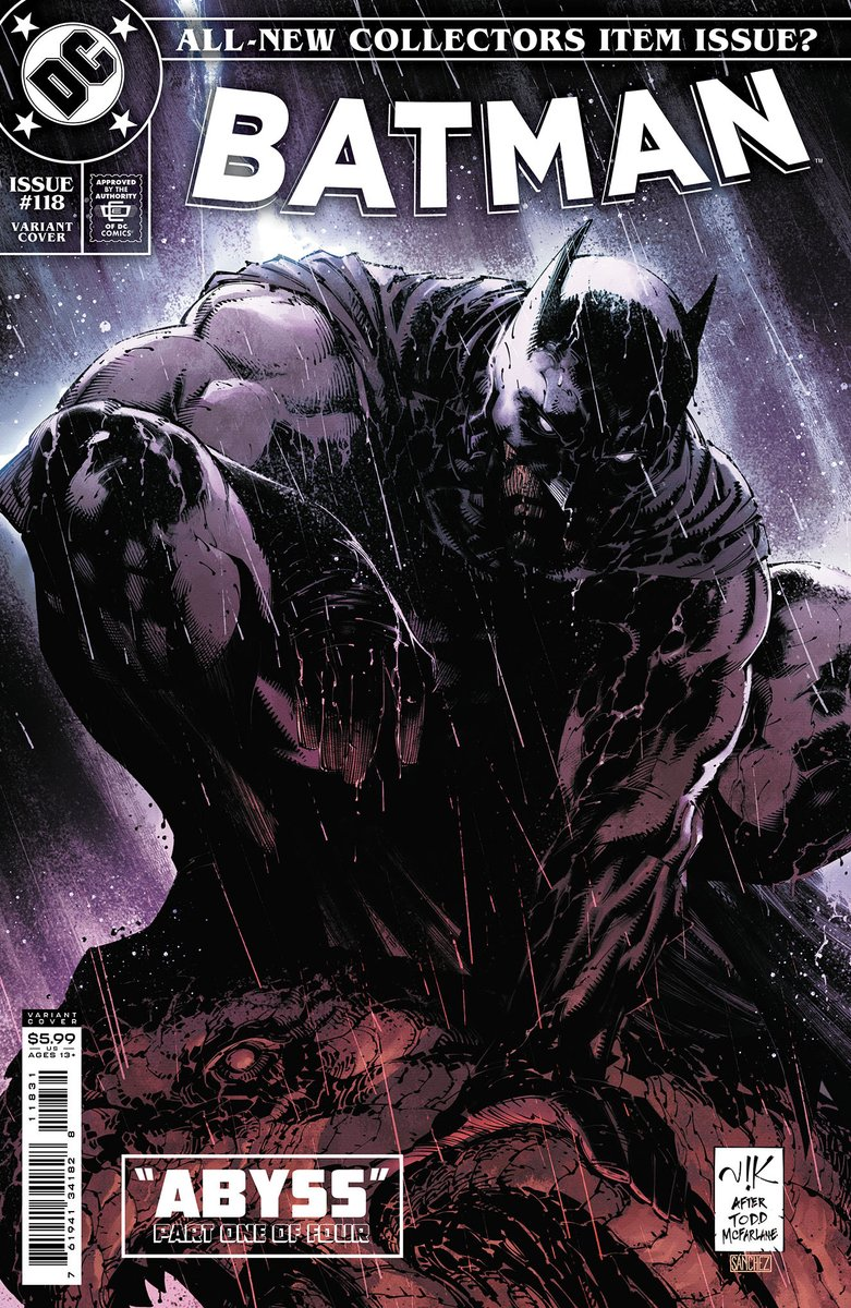 BATMAN #118 variant cover by @VikBogdanovic & @loquesunalex! Love this cover! In December! Start of a new story arc! Be sure to pre-order with your comic book store!