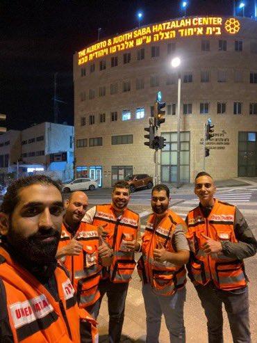 تحية عطرة للتعايش مع مبادرة ٣٠ من المتطوعين العرب في اورشليم القدس بشغل الورديات