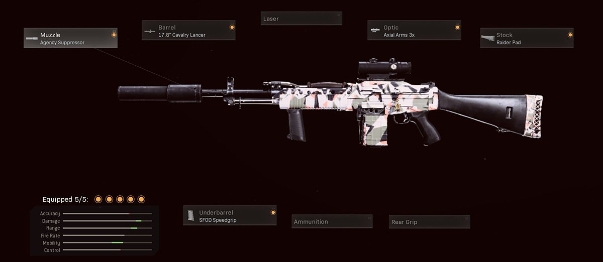 You can pick ONE gun to remove from the game, which one are you picking?