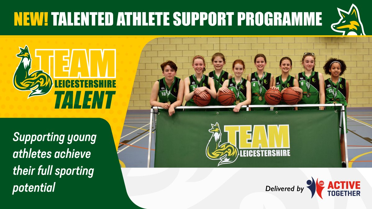 Does you know any talented young athletes? Team Leicestershire Talent could help them on their way to achieving their full potential. Find our more about #TeamLeicestershire Talent, its levels of support and how to apply here👉 https://t.co/yLmAbBMuWa 🦊💪
