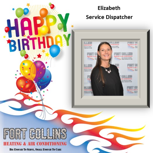 Liz, we are so happy that you became a part of the FCHA family. We hope your birthday is superb.