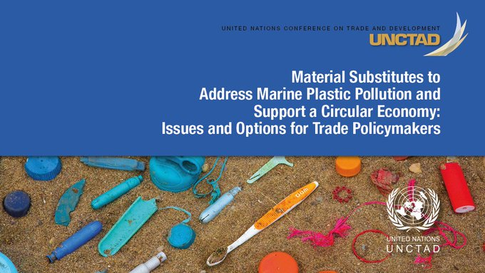 From televisions and toys to clothes, cars and packaging, plastics are everywhere and they're clogging our ocean and seas. A new @UNCTAD report examines how to harness the potential of plastics substitutes, such as jute, abaca, coir, kenaf and sisal bit.ly/2XkaaCZ