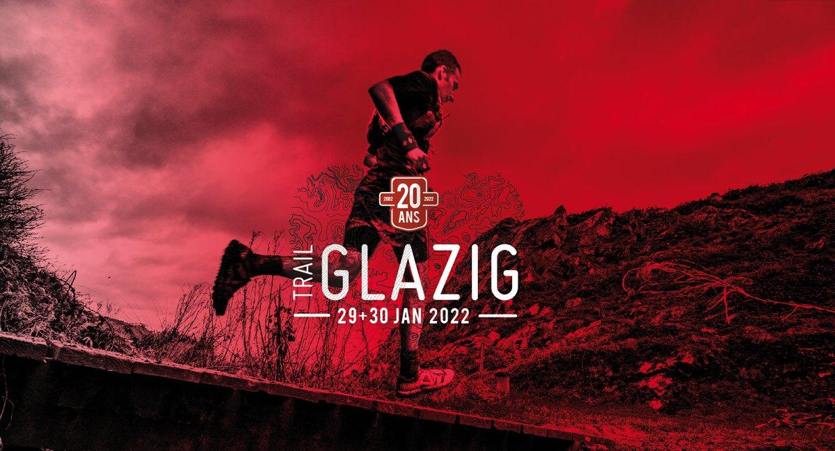 OUVERTURE DES INSCRIPTIONS :  VENDREDI 29 OCTOBRE 2021 ! En attendant la mise à jour du site web, on a hâte de vous retrouver pour les 20 ans du #Trail #Glazig. Pendant que nous vous préparons une belle fête, préparez vos mollets et vos crampons pour les 29-30 janvier 2022.