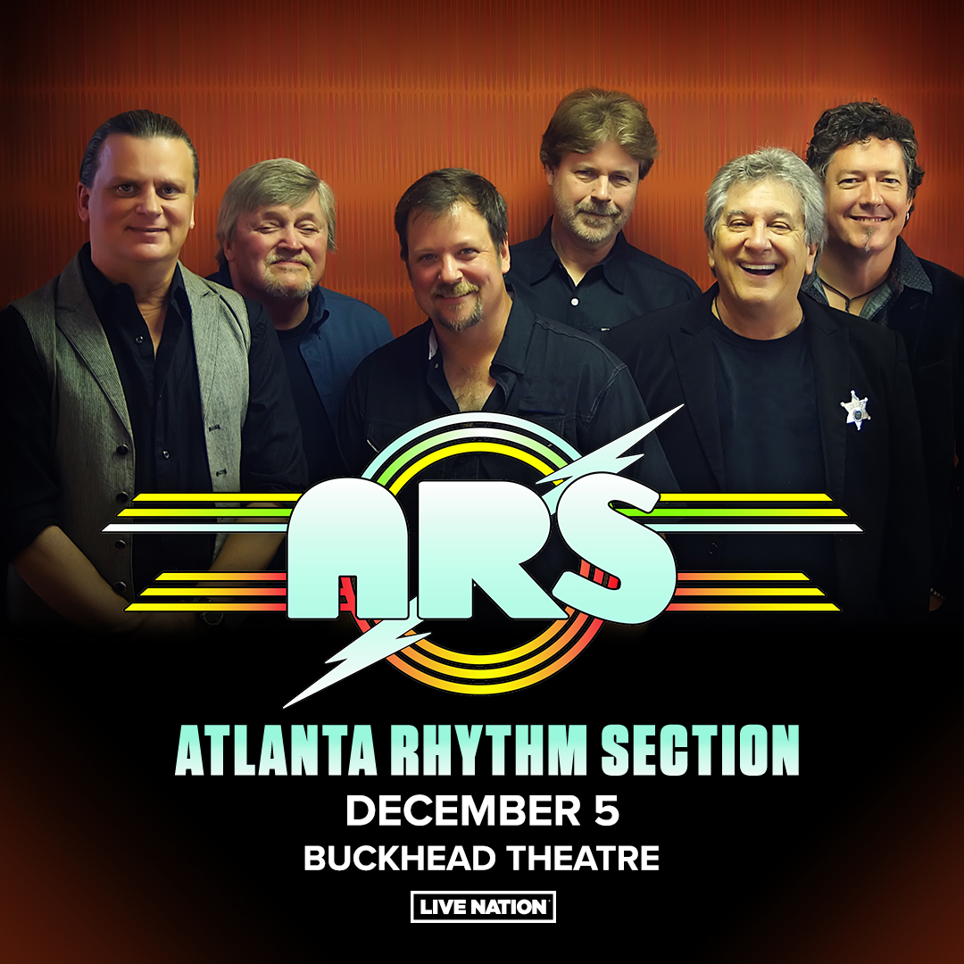 ON SALE NOW: Atlanta Rhythm Section will be at the Buckhead Theatre on December 5, 2021! Grab your tickets at: livemu.sc/2VPceCF