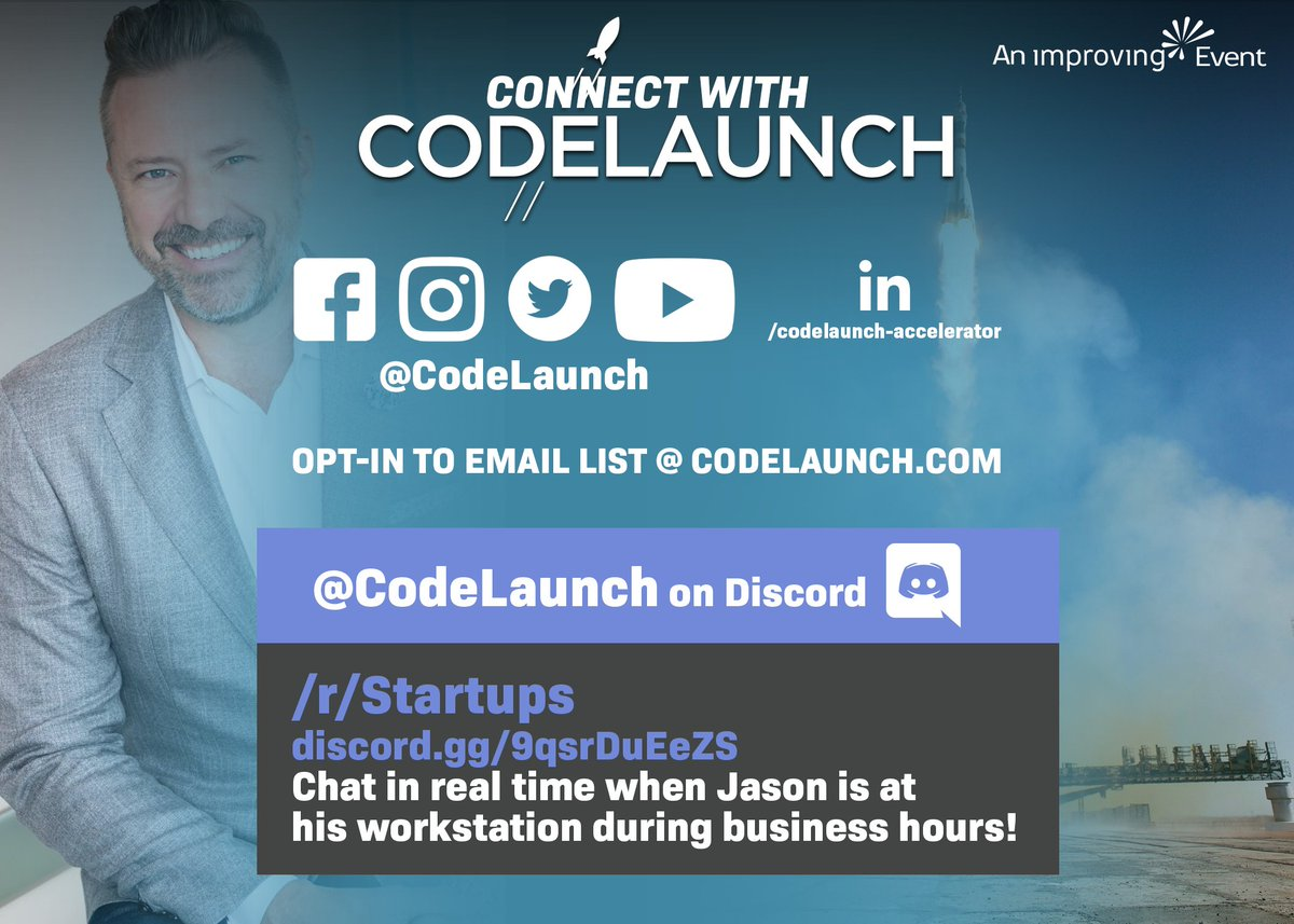 The 2 most must see events on Monday is now @CodeLaunch  #DFW 1/4 final announcement  during the day and #NFL #mondaynightfootball.  Tune in to see if @DucieClub makes it through.  #mondaymadness
