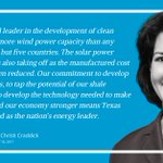 """Image for the Tweet beginning: """"Our commitment to develop renewable"""