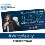 Image for the Tweet beginning: September is #TNCollegeAppMonth, and we're