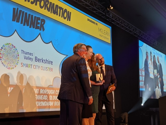 Congratulations to Sue Halliwell and all the West Berkshire team for winning the digital transformation award! 🏆 #MJAwards