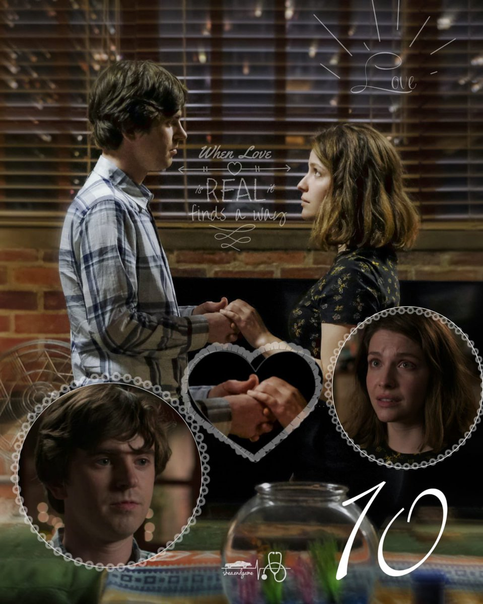 """11 """"Two days ago, I found out...  Shaun... I'm pregnant.""""  High impact scene 😱😍❤️🙌  One of the most shocking and beautiful #Shea scenes. I just adore this episode ❤️🥰❤️🥰  #TheGoodDoctor #ShaunMurphy #LeaDilallo #FreddieHighmore #PaigeSpara #SheaEndgame"""