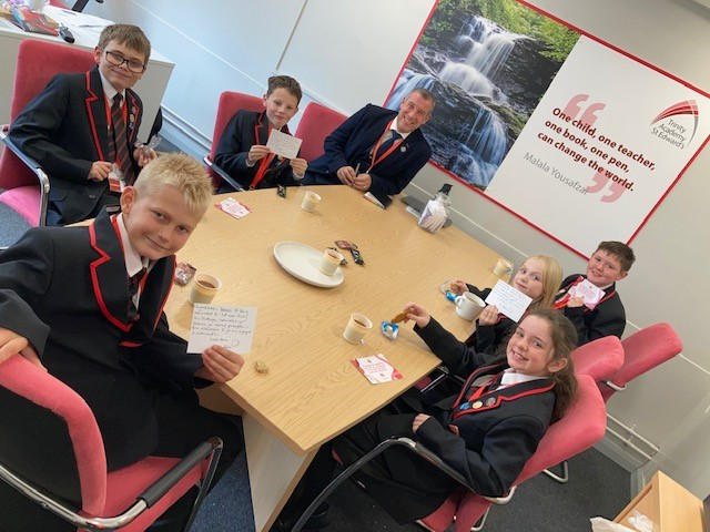 Hot chocolate Friday ☕️ To celebrate some of our student heroes from this week we enjoyed a little hot chocolate break 🤩 It was lovely to give them a treat for all their hard work ❤️ Happy #Friday!