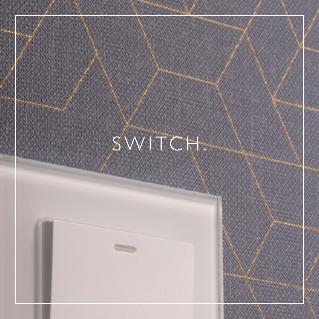 A clean looking switch will complement simple and even the most intricate wallpapers. Make your switches part of your interior details and wow your guests. retrotouch.co.uk/rocker-light-s… #crystal #switches #interiordetails #homedecor #decor #interiordesign #white #lightswitch