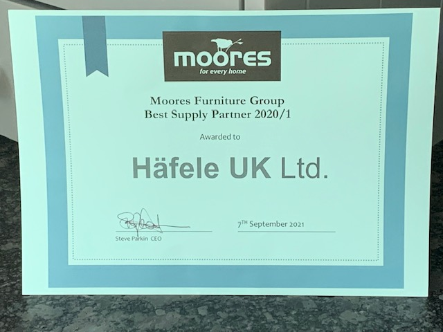 We are thrilled to have been awarded 'Best Supply Partner 2020/2021' by @MooresGroup at their recent supplier conference. Thank you to the team, who highlighted the handling of our large range of products, and clear communication, when presenting us with this certificate