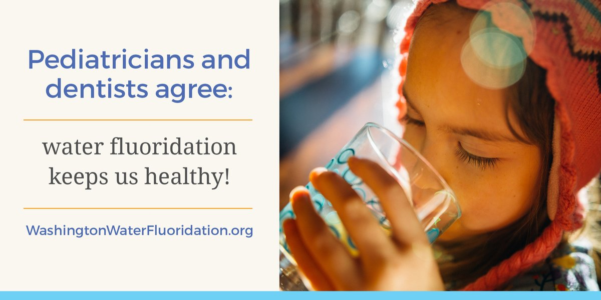 Community water fluoridation is key to good oral and overall health. Learn why pediatricians and parents agree: water fluoridation improves our kids' health 💧➡️  https://youtu.be/6GXkltMu9b8.