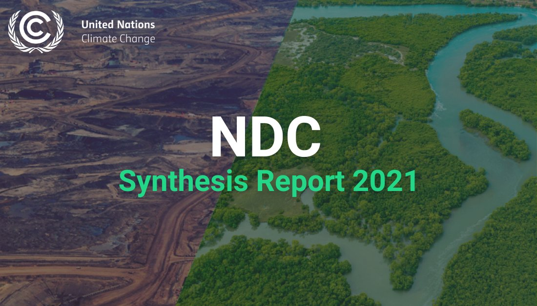 🚨#Breaking UN Climate Change just published a synthesis of countries' climate action plans as communicated in their #NDCs. Press release: bit.ly/NDC_Report