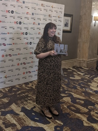 Congratulations to @joanneroney of Manchester City Council, Chief Executive of the Year 👏 #MJAwards