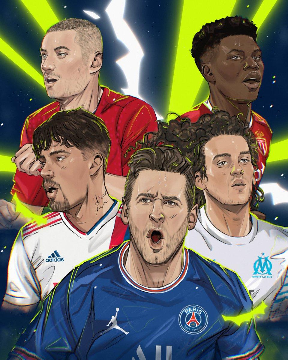 La Ligue des talents ✨ !  #Ligue1UberEats