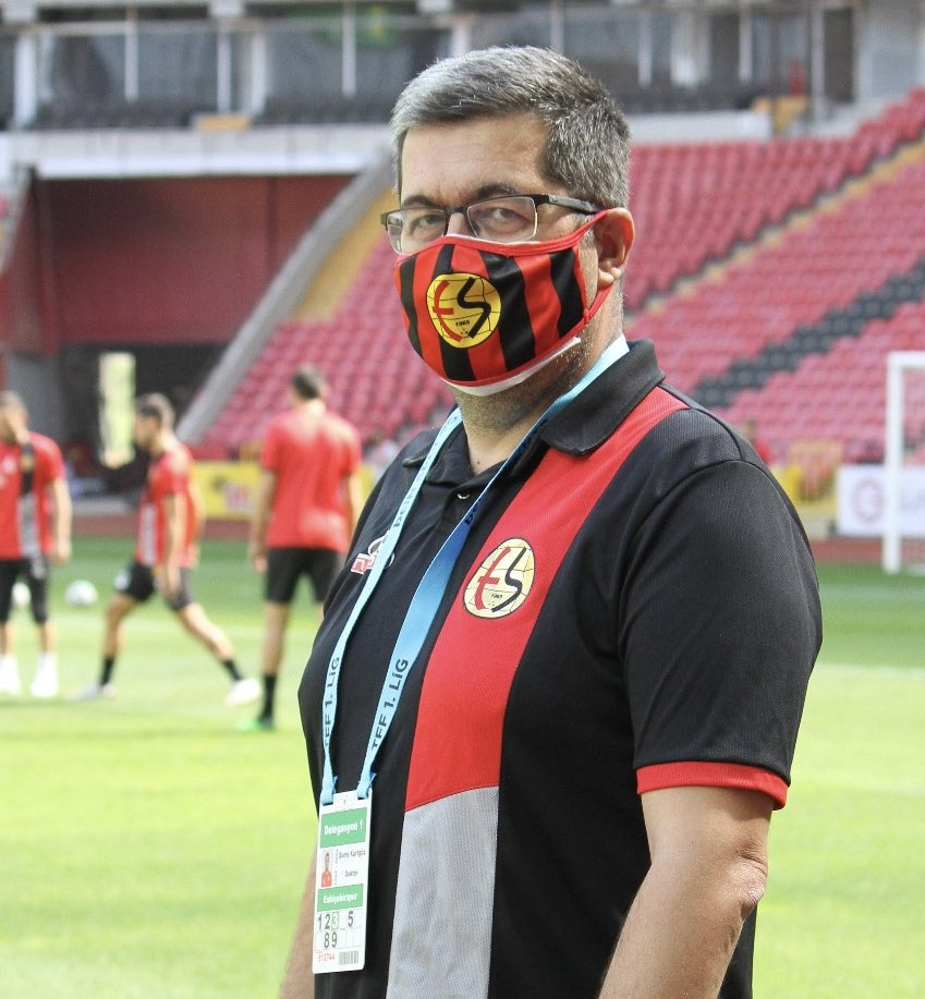 Eskişehirspor doktoruna covid şoku