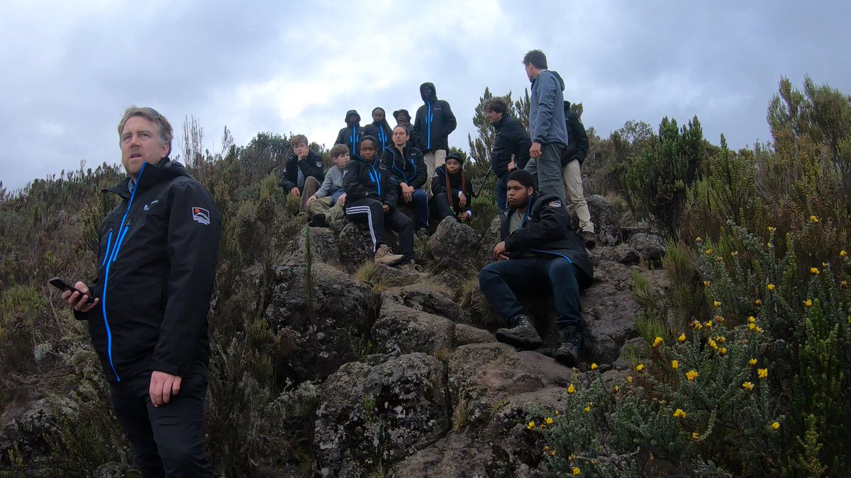 The Kilimanjaro Initiative, led by @TChallenKI, organizes an annual climb of Africa's highest peak in an Outward Bound style leadership training for youth.   Next month, 40 climbers from all backgrounds will join KI to climb for #VaccineJustice  ℹ️⏩🔗 thebigclimb.org