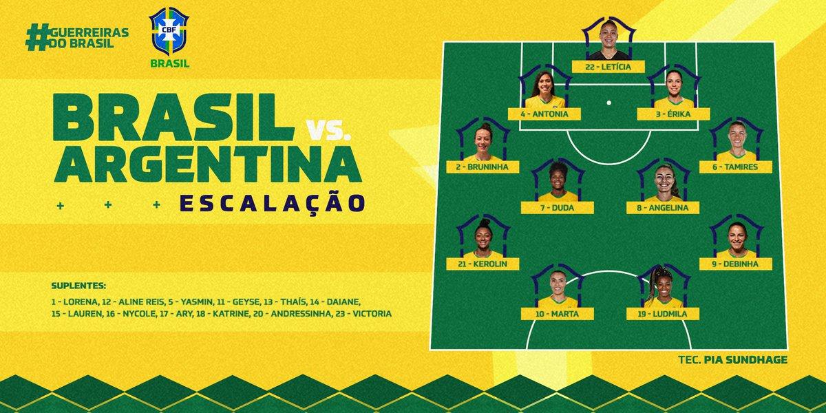 Vai começar o jogão entre Brasil e Argentina, e dá pra acompanhar com a gente aqui na #BrasilENM