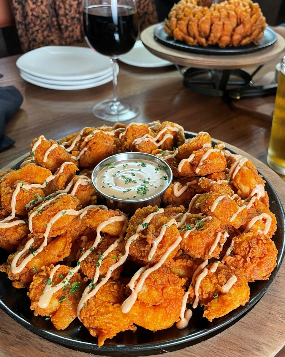 Outback Steakhouse New Bloomin Fried Shrimp Aussie Tizer Available To Order Exclusively In The Outback App For A Limited Time Be One Of The First To Try Them Starting Today