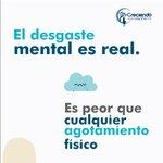Image for the Tweet beginning: El desgaste mental puede afectar