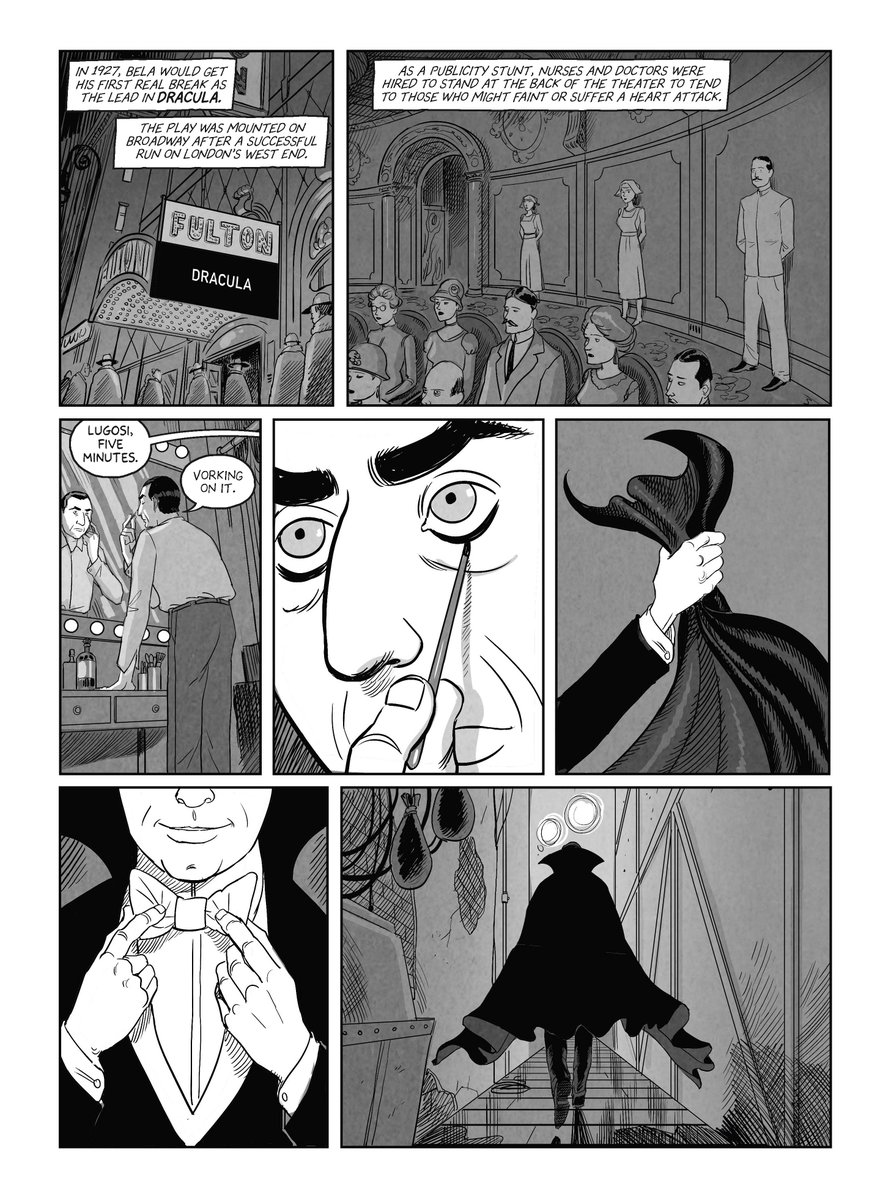 .@IGN's @jschedeen has an exclusive preview from @KorenShadmi's 'fascinating' graphic novel Lugosi: The Rise and Fall of Hollywood's Dracula. ign.com/articles/lugos…