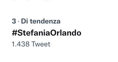 #StefaniaOrlando