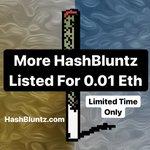 Image for the Tweet beginning: More HashBluntz On Sale For