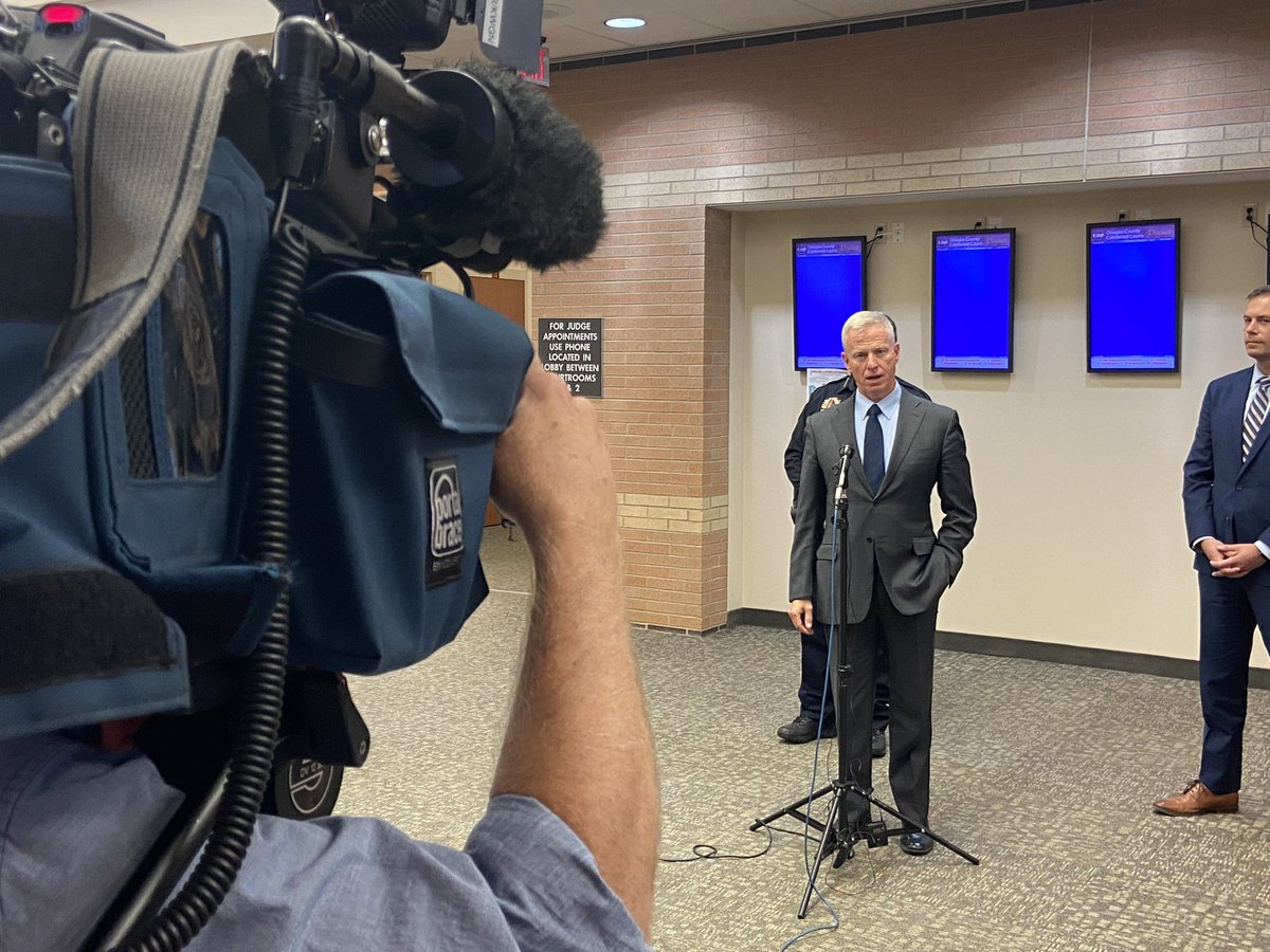 Prosecutor George Brauchler says Devon Erickson sentence is Life without parole plus 1282.5 years for Stem School Highlands Ranch shooting. #9News