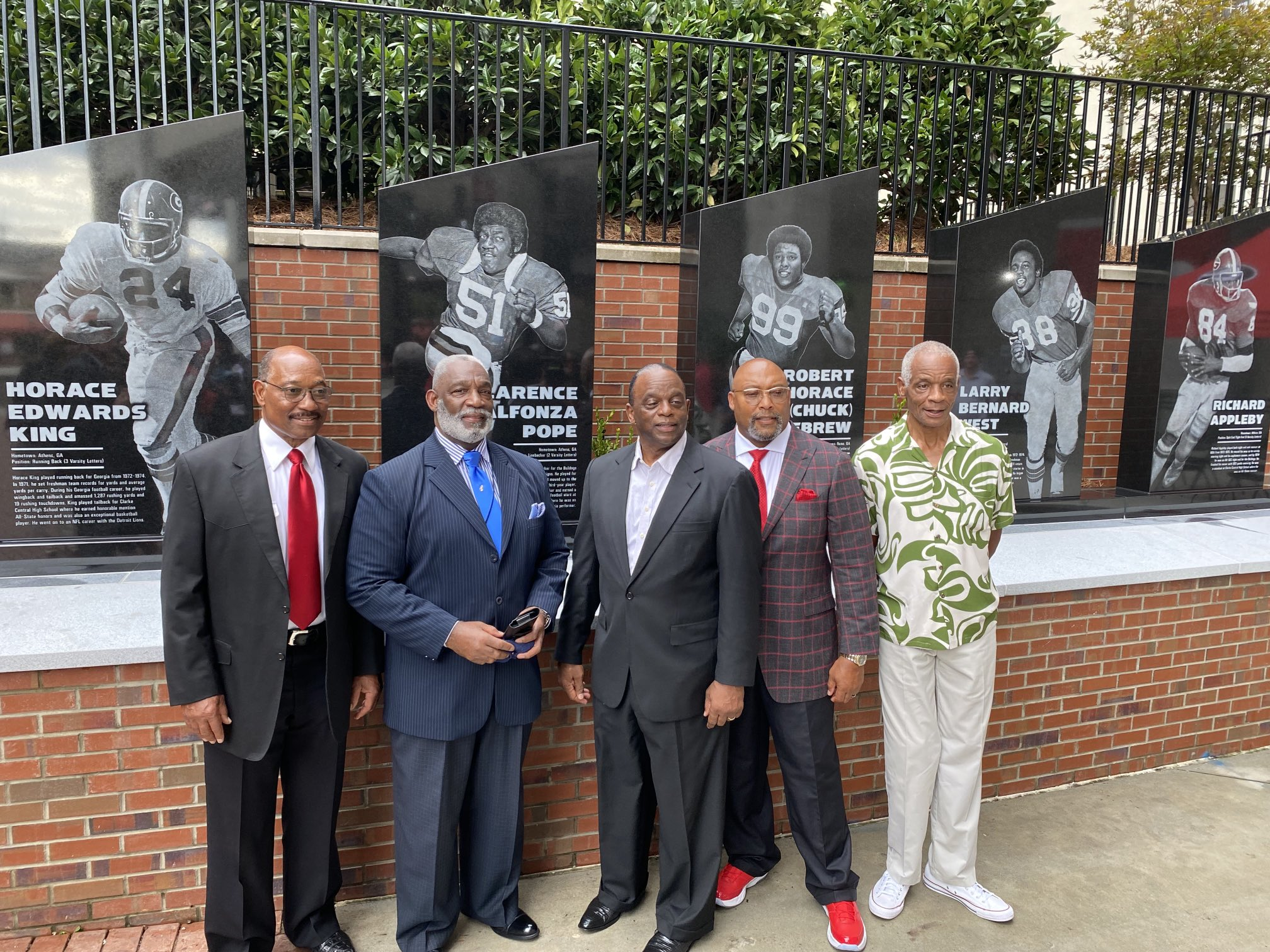 University of Georgia's First Black Football Players Reunite 50 Years Later to Celebrate Exhibit in Their Honor at College Football Hall of Fame