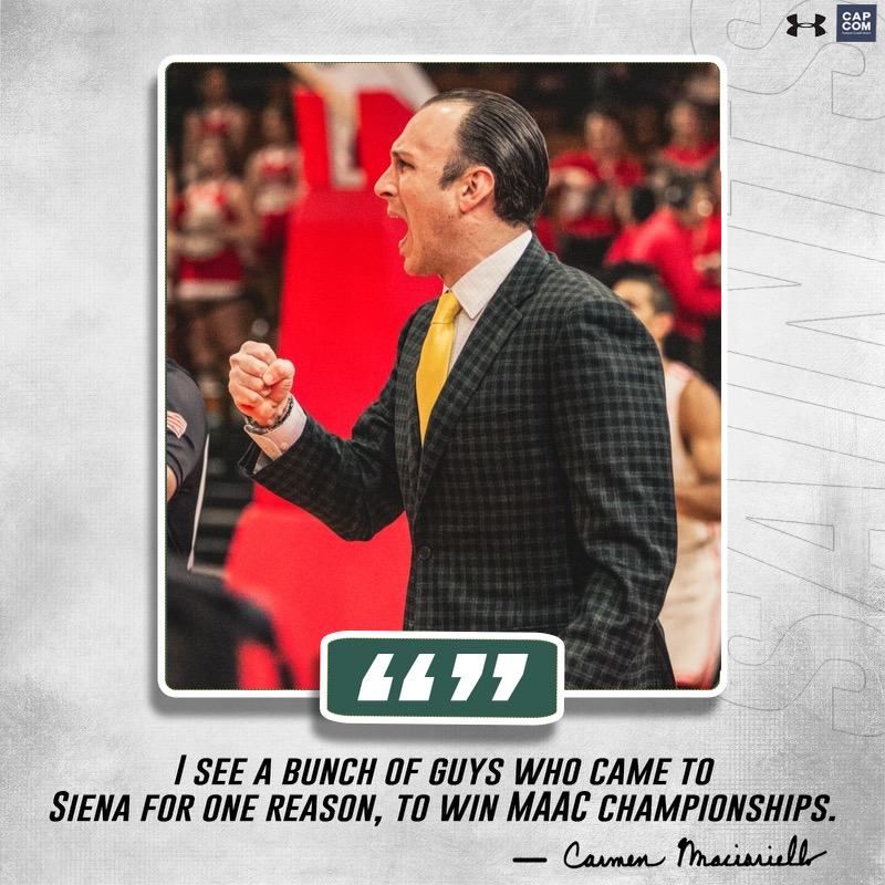 📰 @DalyDoseOfHoops FEATURE | #SienaSaints Reload With New Supporting Cast in Search of Regular Season @MAACHoops Three-Peat 🔗 bit.ly/3Cp7HpY #MarchOn | #MAACHoops | #NCAAM | #Attack | #Finish | #EAT