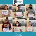 Image for the Tweet beginning: It's #WhyApply day with @american_cac!  #PhillyFutures