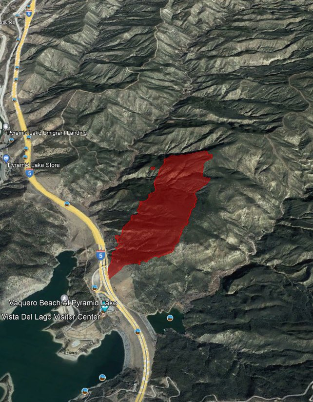 Update on the #EmigrantFire: The fire is now at 220 acres and 5% contained. Firefighters have attacked it aggressively with 10 aircraft.