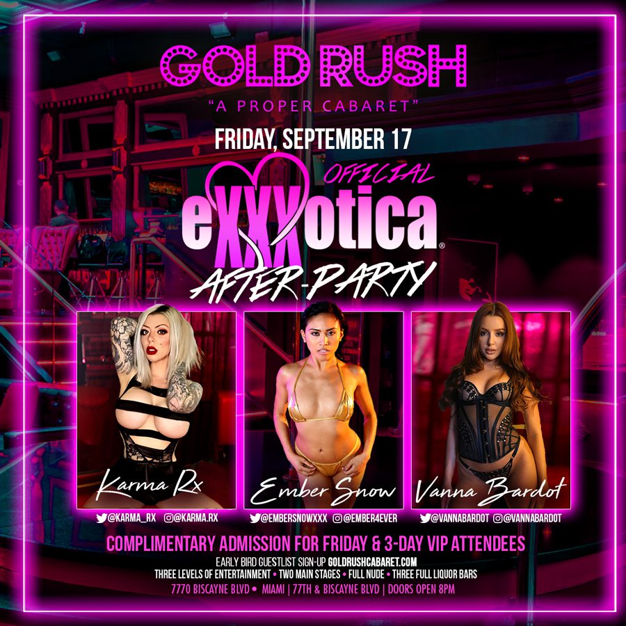Keep The Party Going @goldrushcabaret With @karma_rx @embersnowxxx @vannabardot