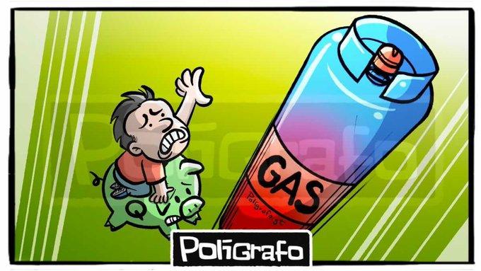 El aumento del costo de la canasta básica volverá a subir, luego del aumento al precio del gas propano en Q12 por cada cilindro de 25 libras.