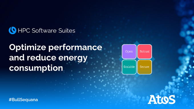 Atos' HPC Software Suites, a #scalable, #open, #robust & #secure solution to enable #HPC...