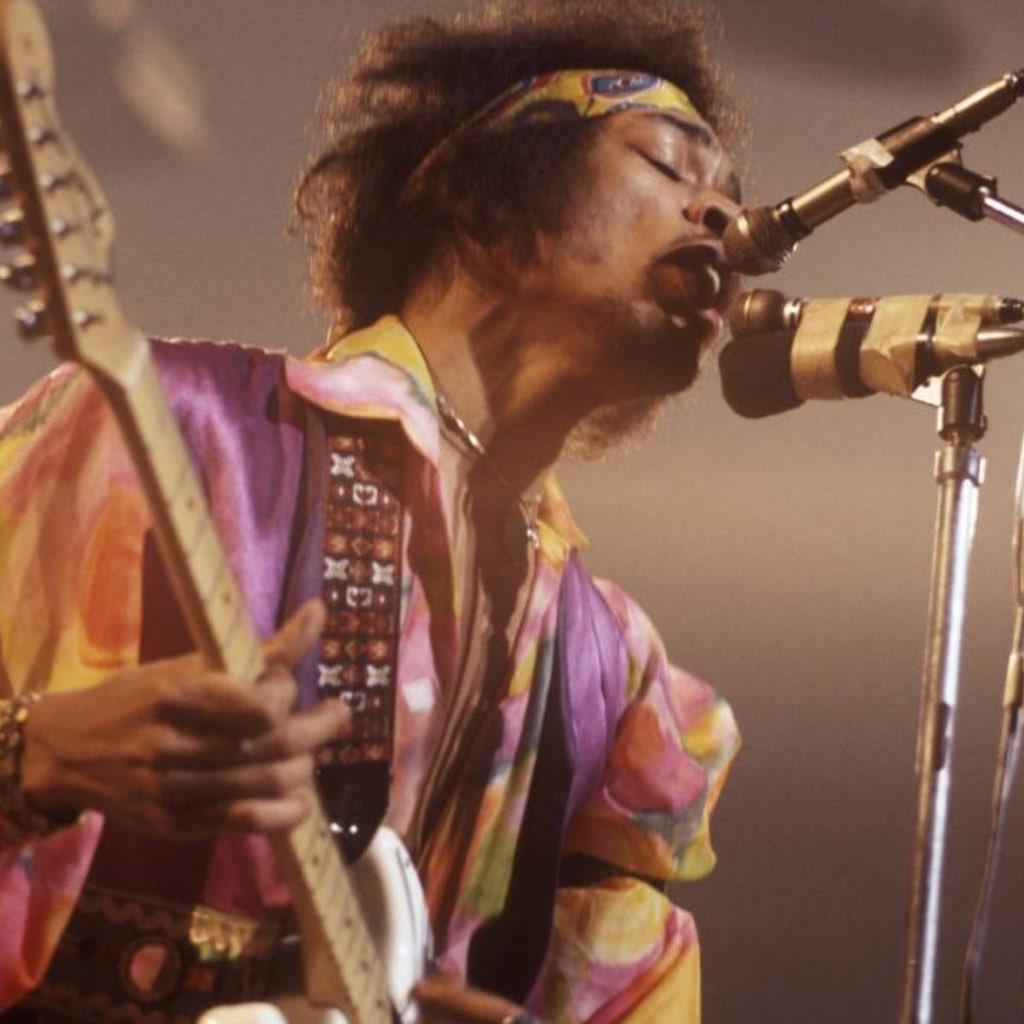 James Marshall Hendrix aka Jimi Hendrix November 27, 1942– September 18, 1970