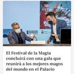 Image for the Tweet beginning: El Festival de la Magia