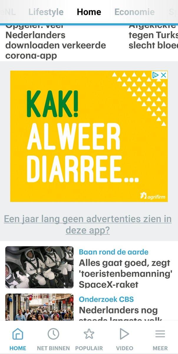 """test Twitter Media - .@Agrifirm is er met hun """"KAK alweer diarree"""" reclame in de @rtlnieuws app in geslaagd om de associatie """"kalfsvlees = diarree"""" in mijn hoofd te planten. #reclamewerkt #veelkortingenvoordeel https://t.co/AG9F69zoxj https://t.co/BmMRJewEWi"""