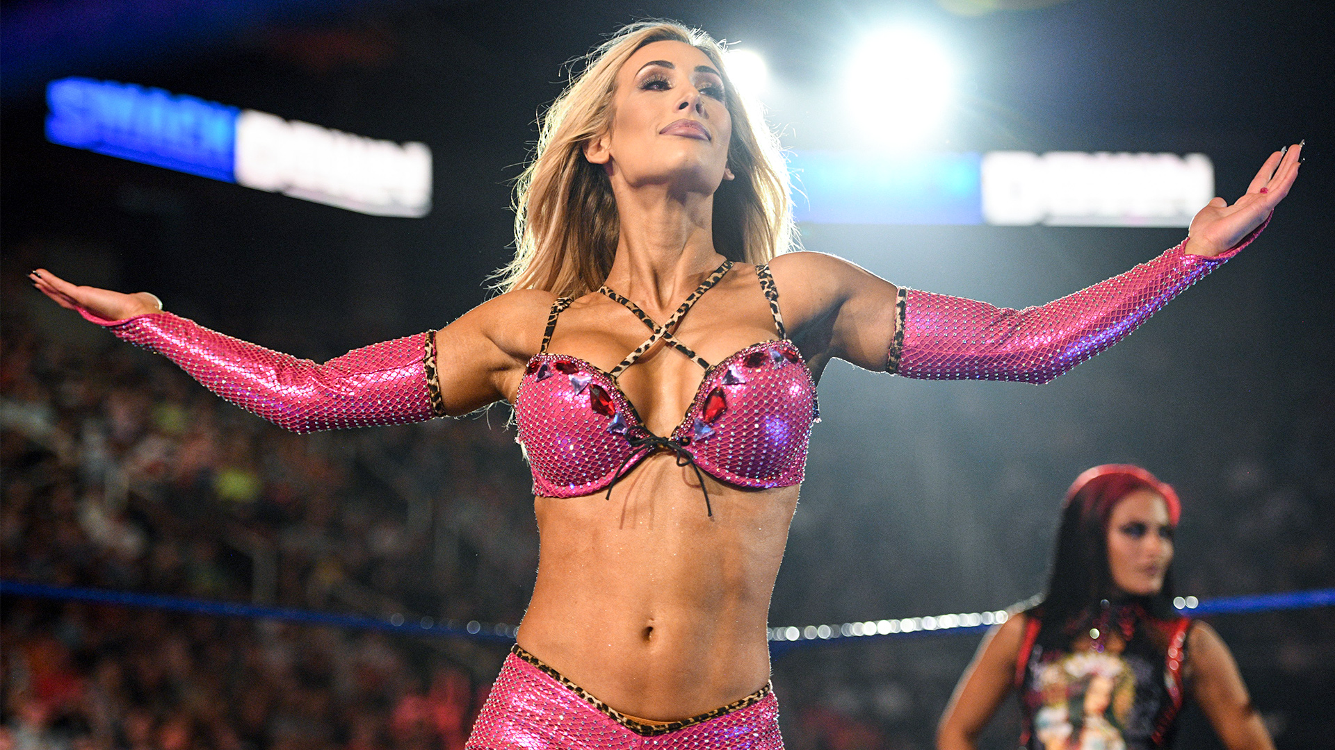 Carmella Shows Off Her Confidence In Latest Hot WWE In-Ring Gear 112