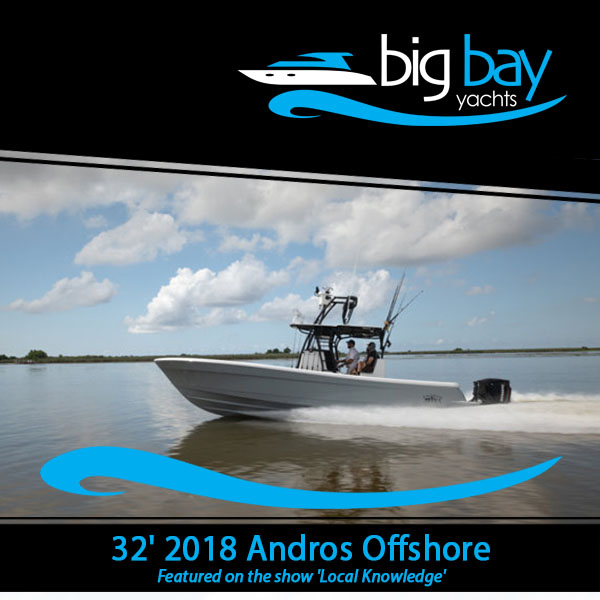 New listing - 32' 2018 Andros Offshore at @BigBayYachts  LLC owned Fishing machine More details at: https://t.co/598stRCLVX  #yacht #boating #luxurytravel #luxurylifestyle