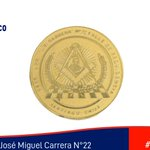 Image for the Tweet beginning: El @museomasonico🏛️ conserva esta medalla
