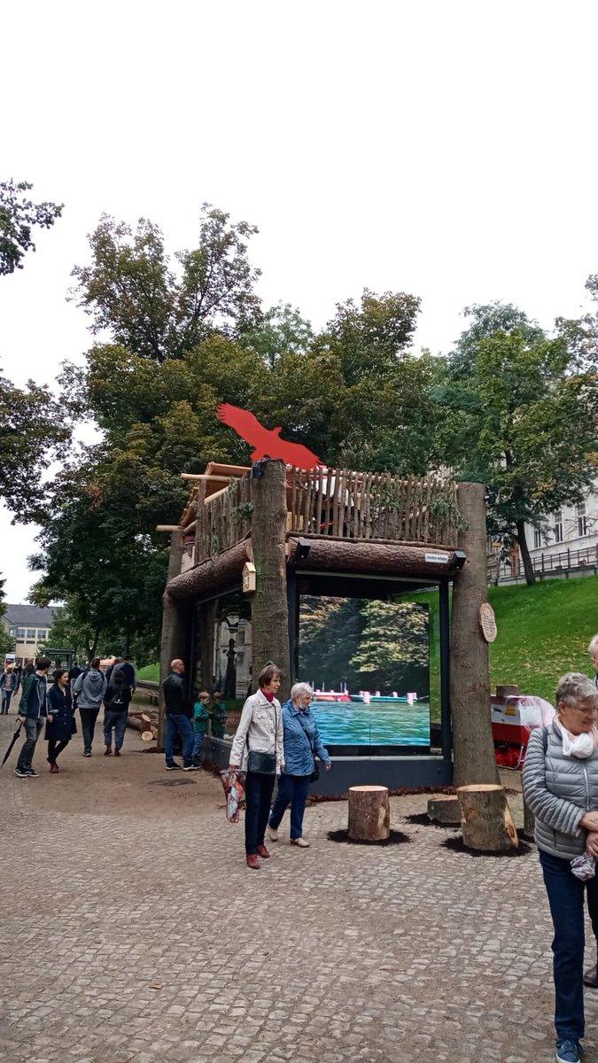 Die Einheits-Expo zum #TDE2021 in Halle ist eröffnet. ✔️ Bis zum 3.10. gibt es bei uns am Stand Tipps für Urlaub und Ausflüge #nachbrandenburg. https://t.co/3OQMKZ8n7C