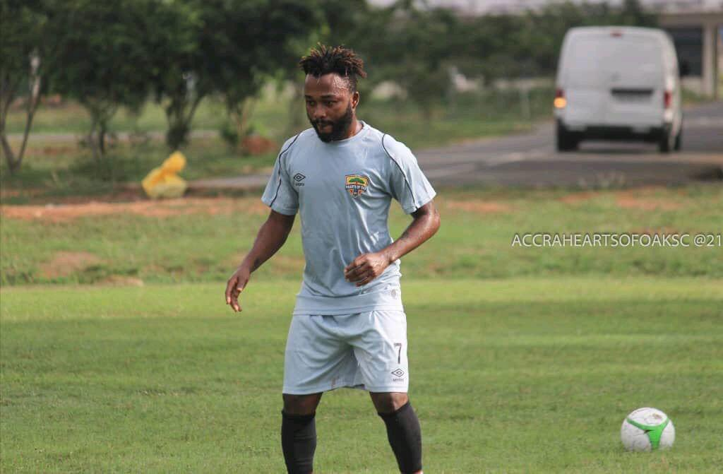 Just In: Gladson Awako has left Hearts of oak camp, he's returned the money the Phobians paid for him   Reasons are that he's been having serious nightmares since he joined the club   The player believes if he continues to play for Hearts he might die