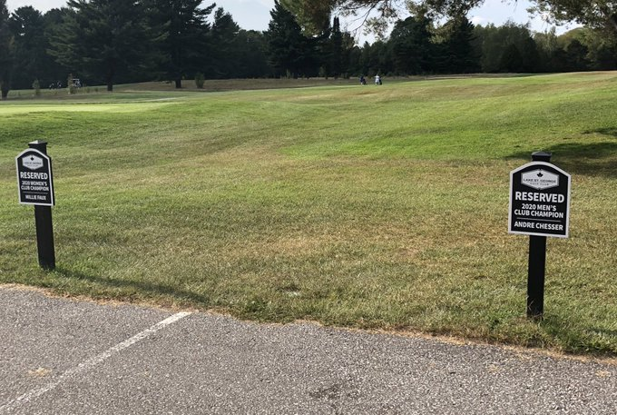 One week until the battle for the parking spots! #ClubChampionship