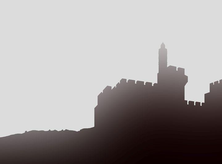 Featured Art of the Day: 'David's citadel mist'. Buy it at: ArtPal.com/elygoldart?i=9…
