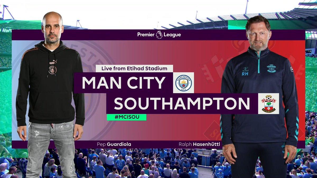 Full match: Manchester City vs Southampton
